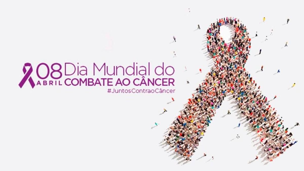 8 de Abril: Dia Mundial de Combate ao Câncer