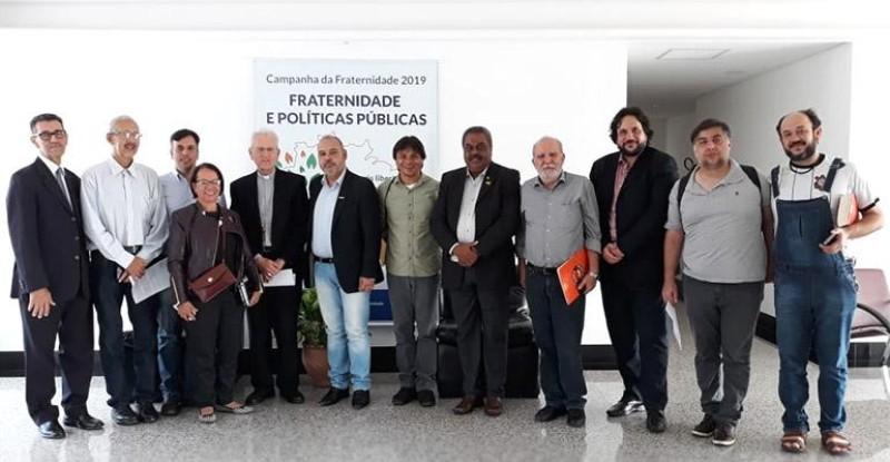 CNBB e Centrais Sindicais se reúnem para debater Reforma da Previdência