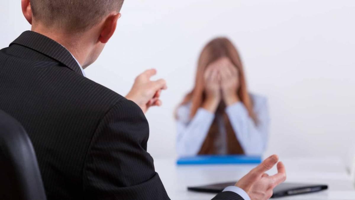 Humilhações no ambiente de trabalho