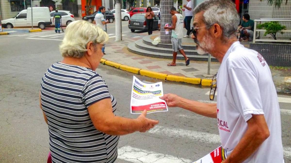 Reforma da Previdência deixará brasileiros pobres, sem saúde e educação!