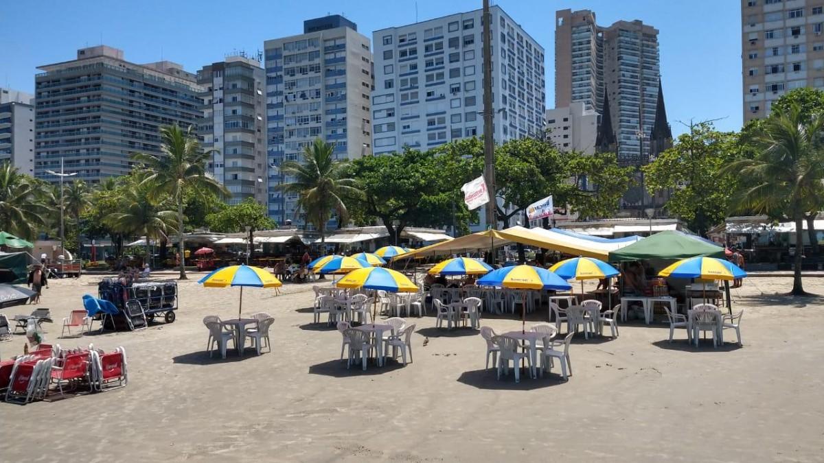 Barraca de Praia abre neste final de Semana!