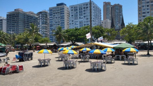 Barraca de Praia abre neste final de Semana!