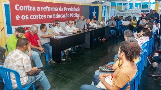 Centrais sindicais falam sobre a Greve Geral dia 14
