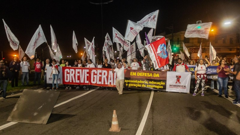 Greve Geral demonstra insatisfação com Reforma  e corte na educação