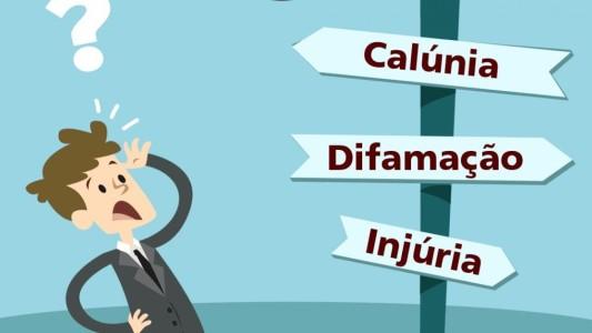 Qual a diferença entre calúnia, injúria e difamação?