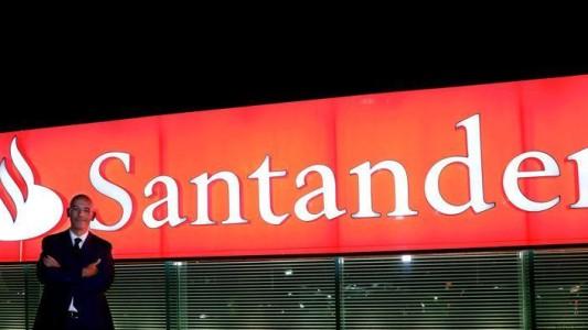 Sem tempo ruim para o Santander