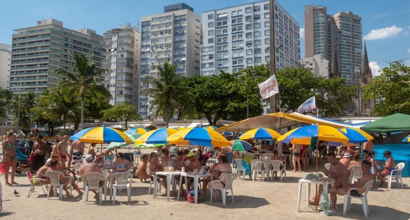 Barraca de praia do Sindicato volta no dia 12 de outubro