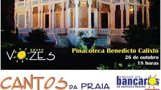 Grupo Vozes na Pinacoteca Benedicto Calixto