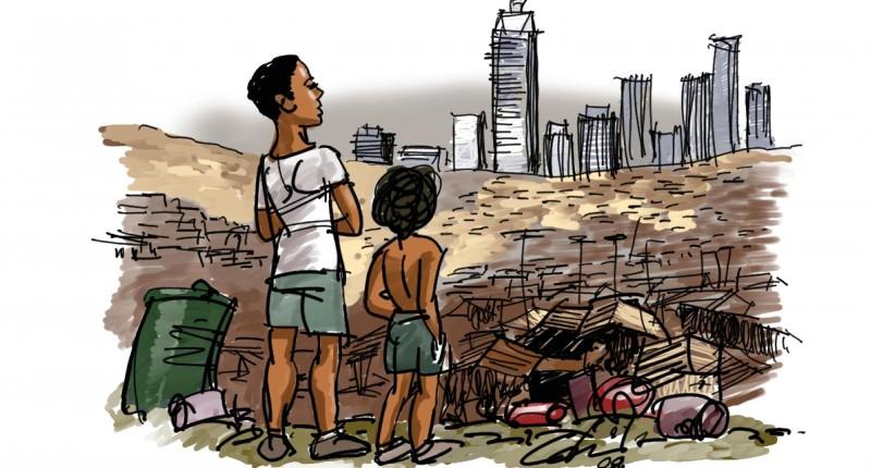 Pesquisa aponta como a desigualdade de renda cresceu no Brasil