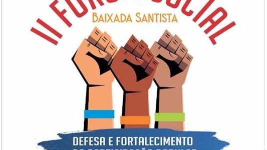 II Fórum Social da Baixada Santista discute participação popular