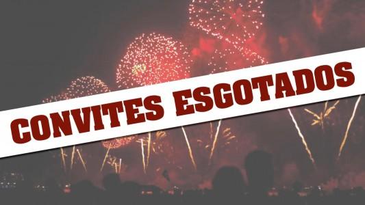 Convites para festa de Ano Novo na barraca do Sindicato estão esgotados