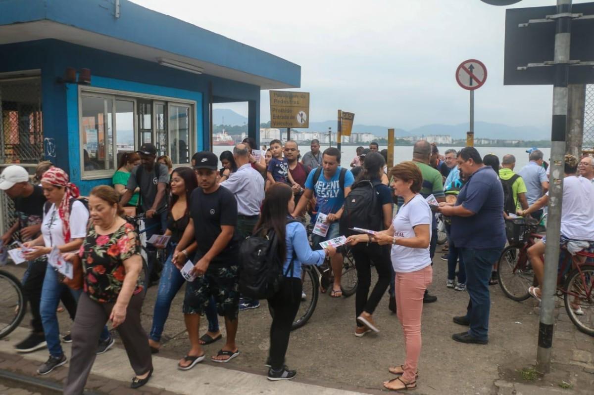 Luta por Empregos e Direitos na ZN/Santos, hoje!