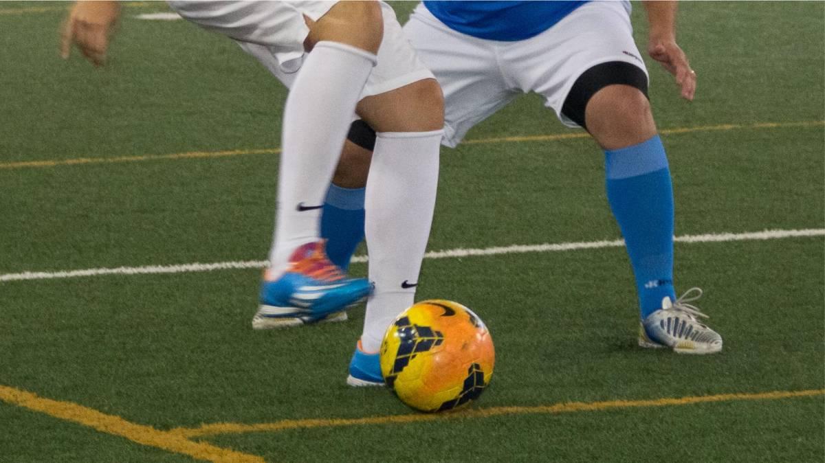 Venha jogar futebol no campo soçaite do Sindicato