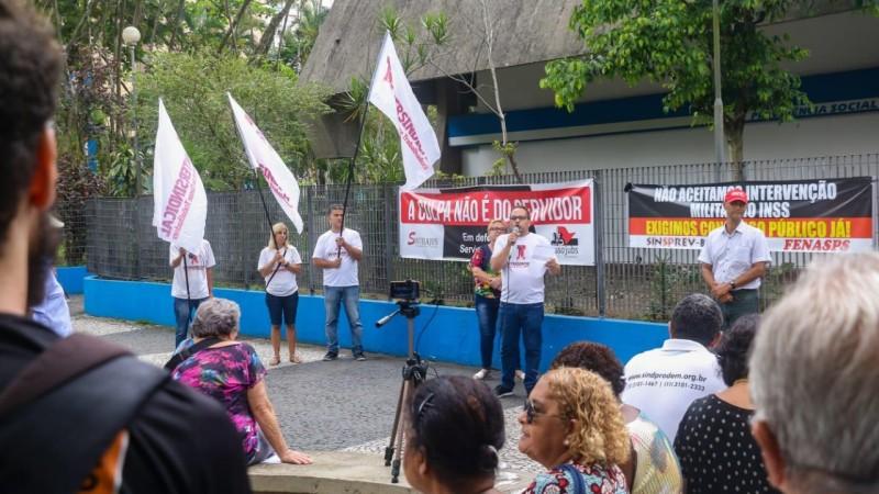Dia de Luta em Defesa do INSS e dos Serviços Públicos