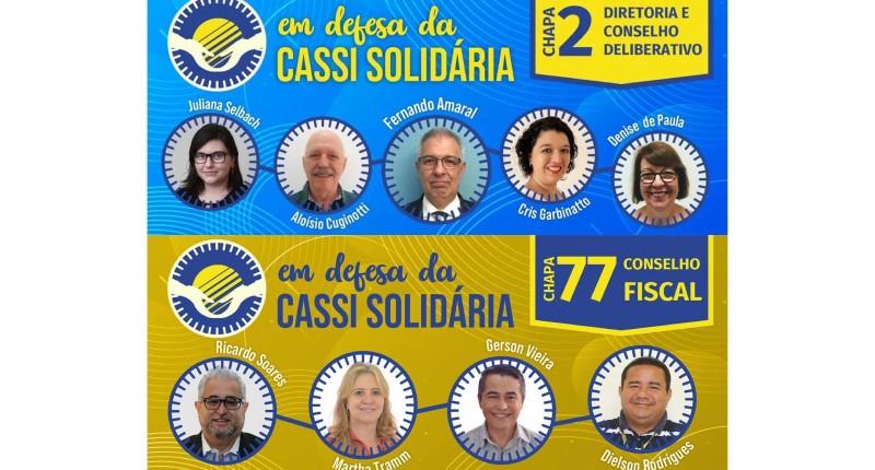 Sindicato dos bancários apoia chapa 'Em Defesa da Cassi Solidária'