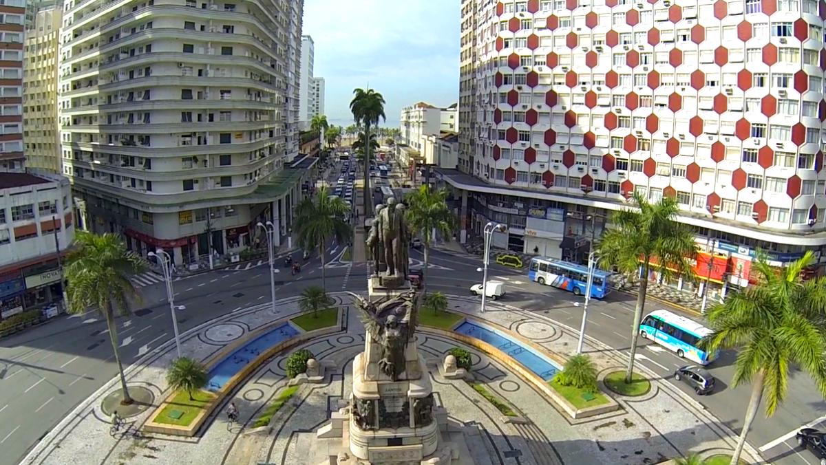 Santos intima nove agências bancárias por descumprirem regras contra o coronavírus