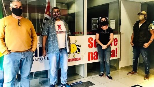 Bradesco é paralisado em Santos por falta de segurança