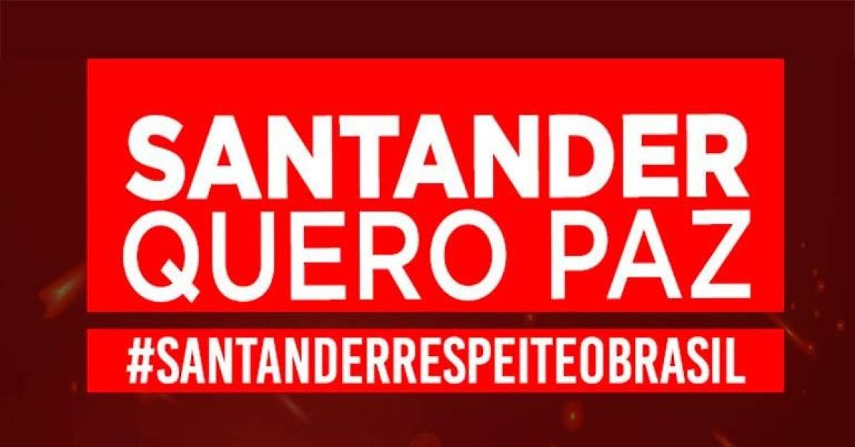 Santander sempre na contramão da prevenção e direitos do trabalhador