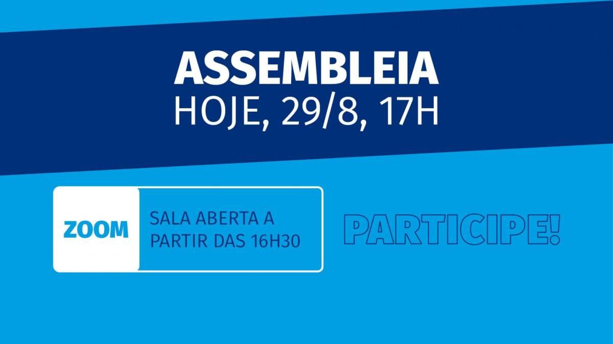 Neste sábado, 29/8, tem assembleia da Campanha Nacional dos Bancários