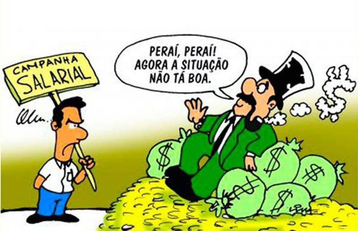 Bancos propõem reajuste ZERO