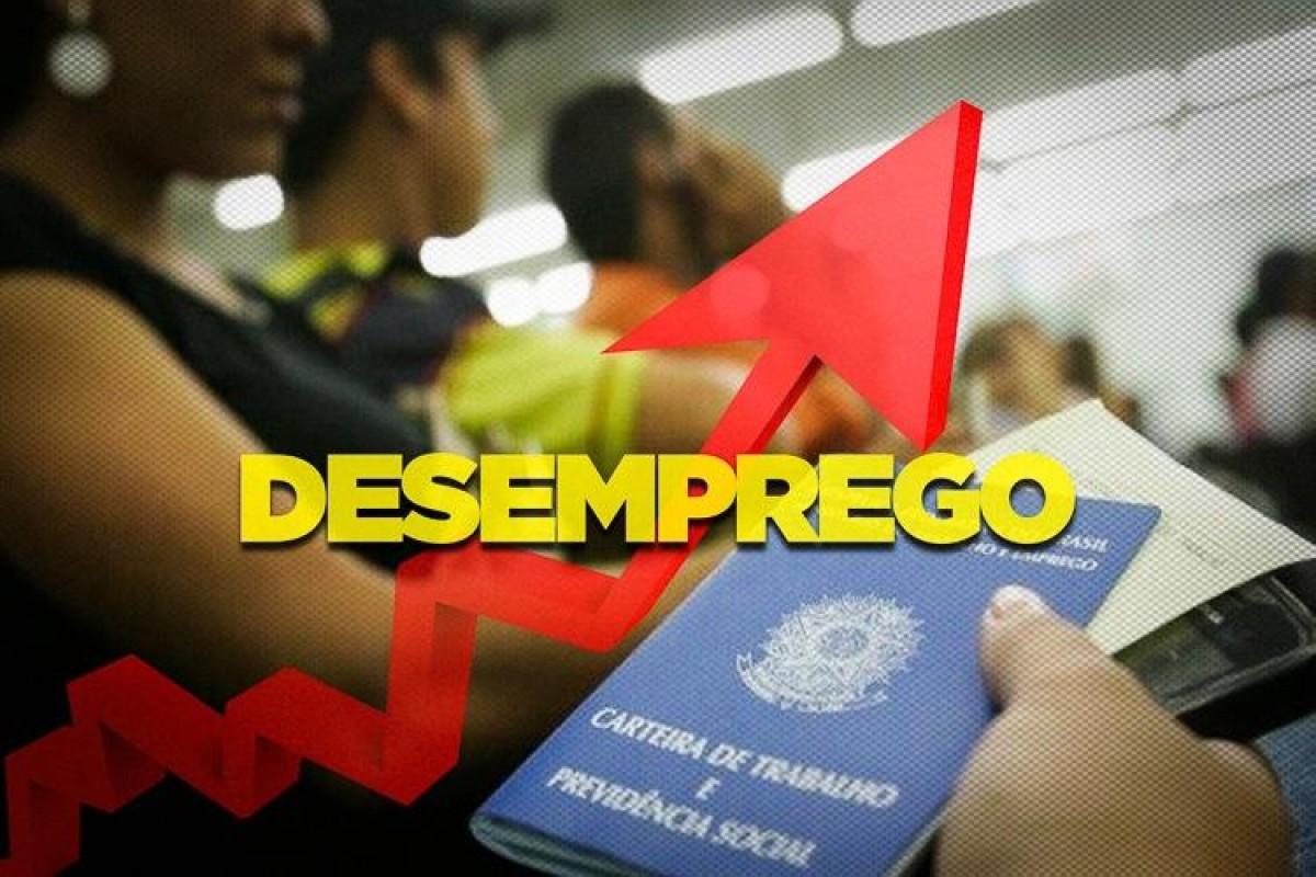 Recorde de desemprego no Brasil, mais de 13 milhões
