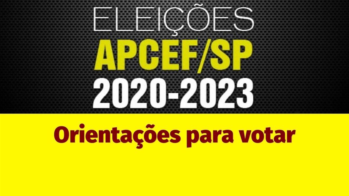 Eleição da Apcef/SP:Veja as instruções para votação virtual