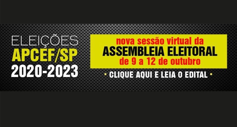Empregado Caixa, vote pelo adiamento das datas de eleição da Apcef/SP