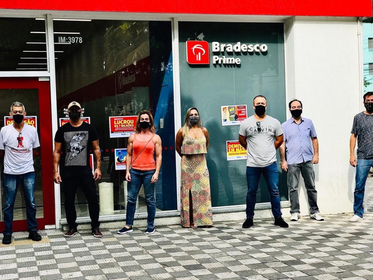 Bradesco anuncia fechar 1.100 agências até o fim de 2020