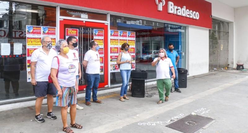 Hoje tem TUITAÇO contra demissões no Bradesco às 11h