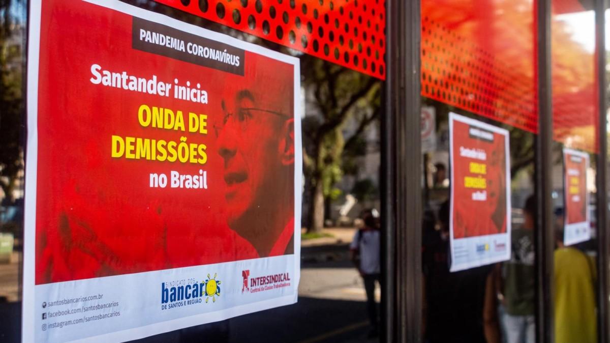 Onda de demissões no Santander é notícia na mídia espanhola