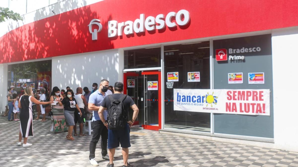 Bradesco continua demitindo, mesmo com ajuda do governo aos bancos