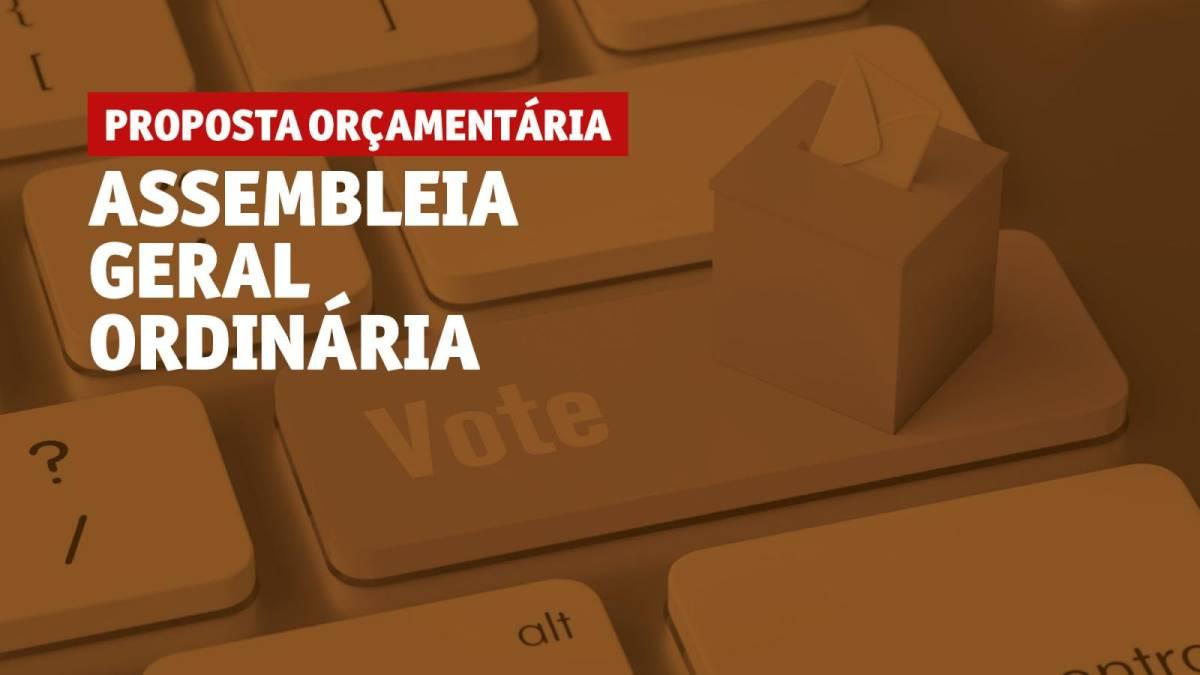 Assembleia Geral Ordinária virtual de proposta orçamentária