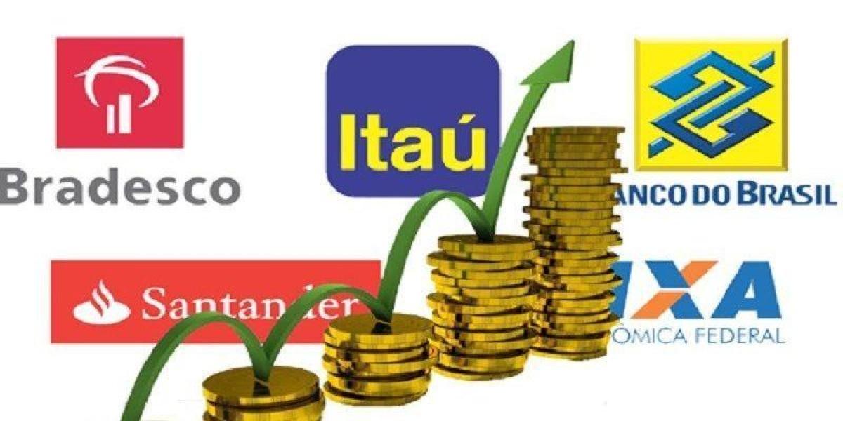 Cinco maiores bancos lucraram mais de R$ 53 bi em nove meses