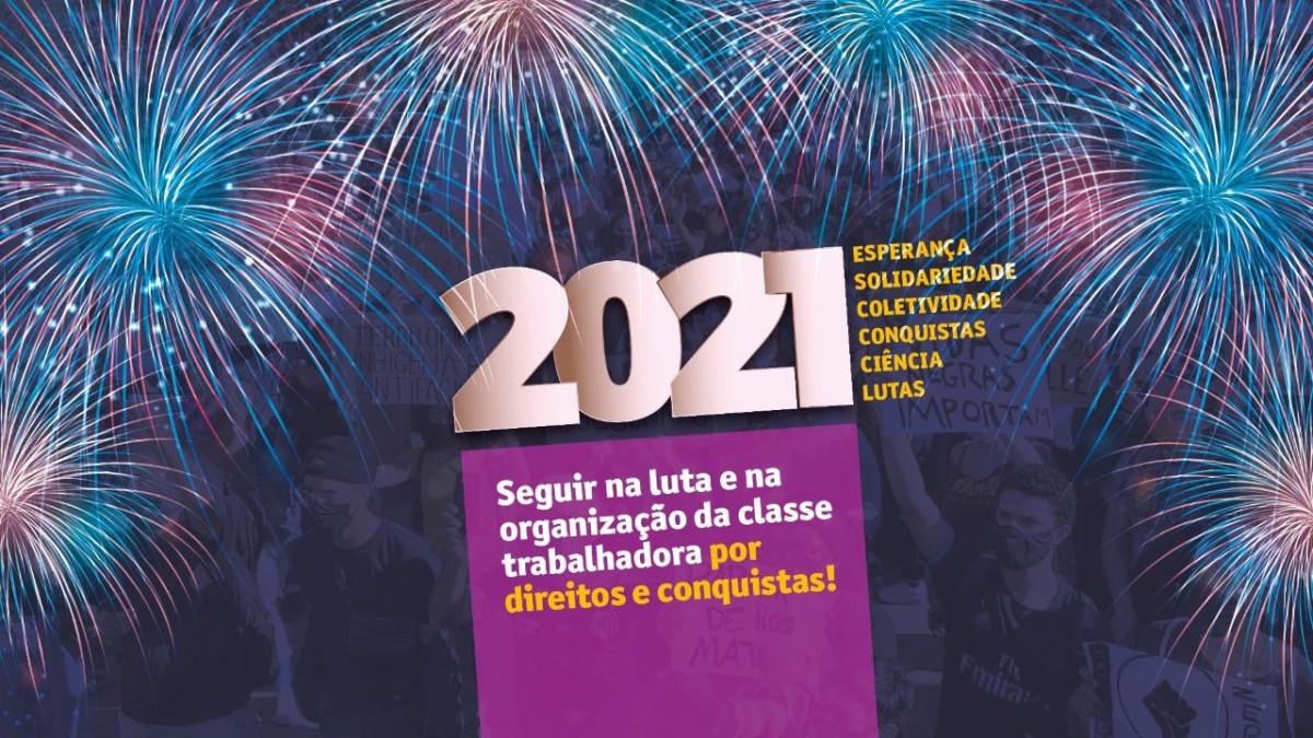Mensagem de Natal e Ano Novo 2020-2021