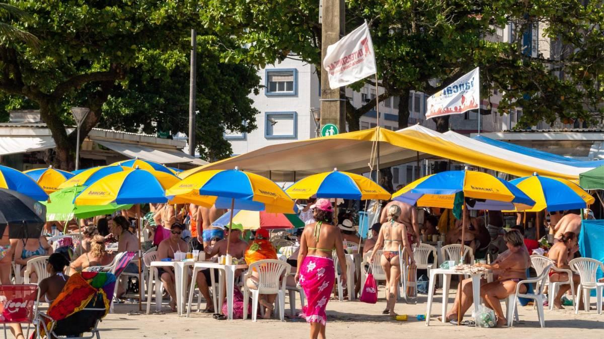 Tem barraca de praia do Sindicato em mais dois finais de semana de 2020