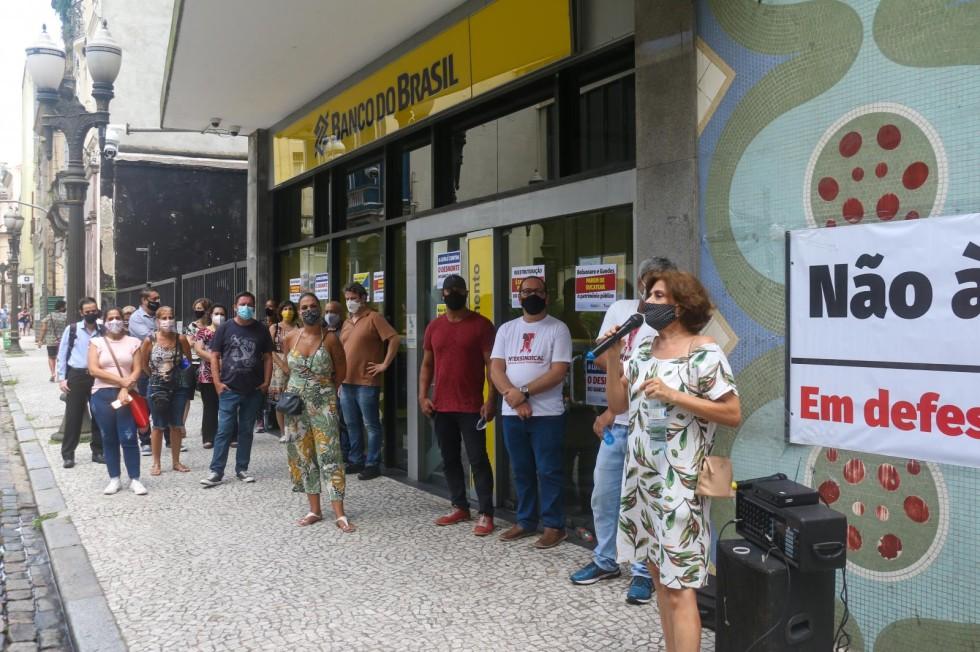 [Agências do BB são paralisadas em Santos/SP]