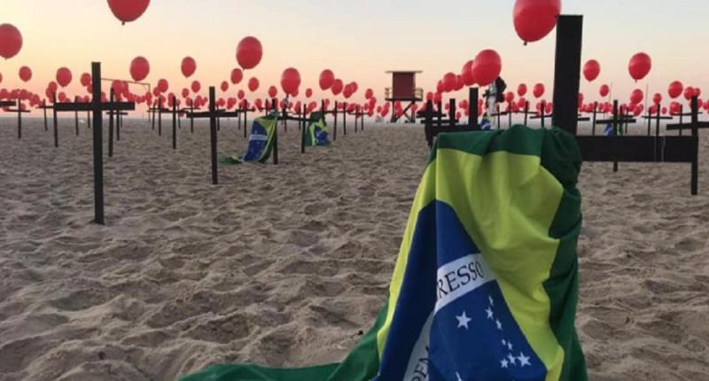 Brasil se aproxima do colapso e tem 1.110 mortes por Covid-19 em 24h