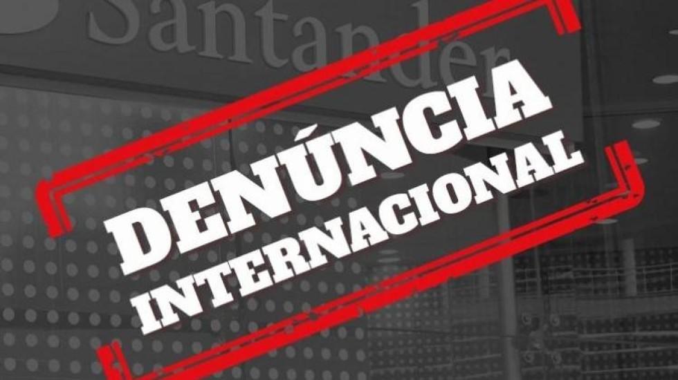 [Movimento sindical denuncia à Comissão Europeia desrespeitos do Santander aos trabalhadores brasileiros]