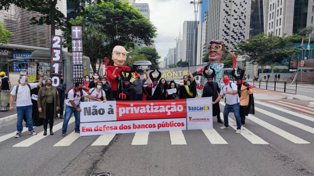 BB: Protesto em SP - apresentação dos lucros - 12/2