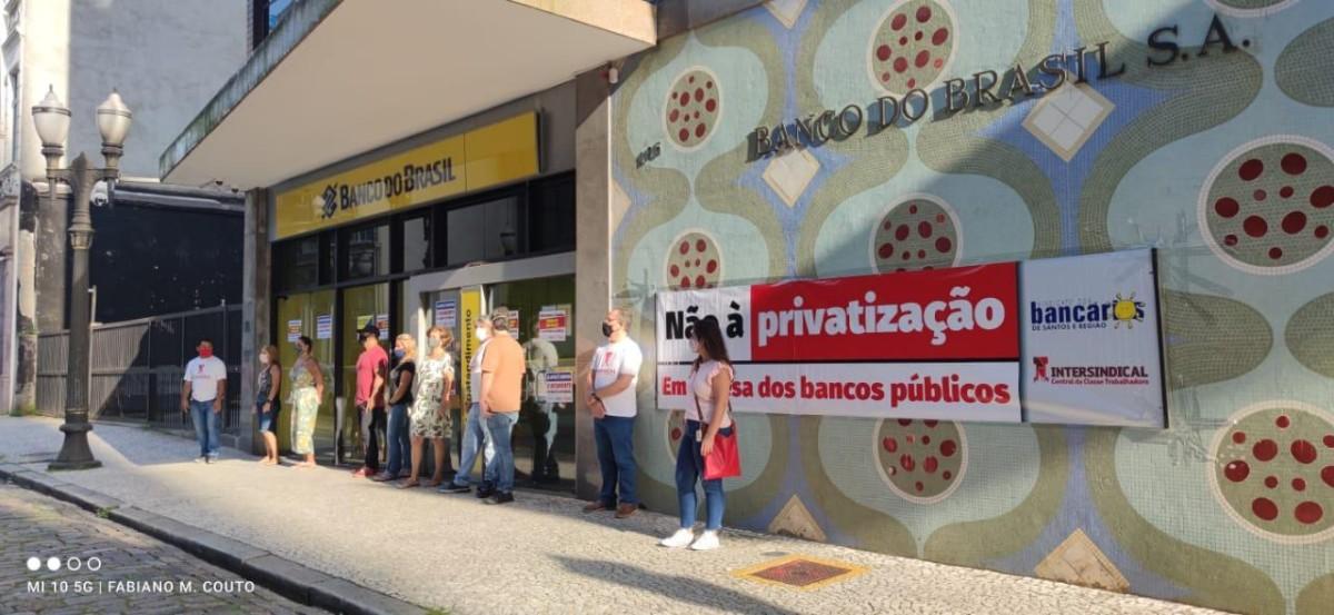 Amanhã (10), bancários do BB cruzam os braços em nova greve de 24h