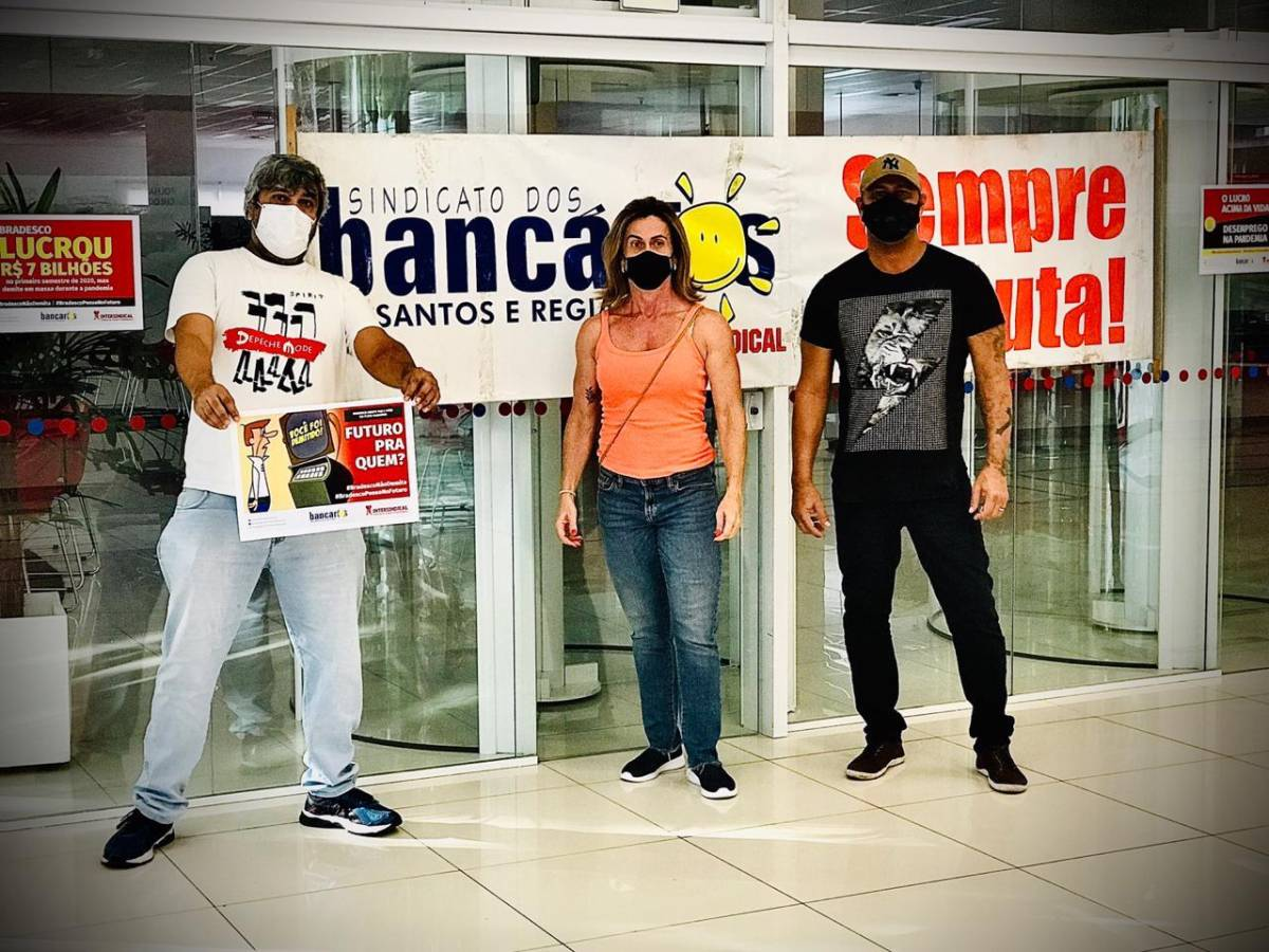 Bradesco fecha 1.083 agências e demite 7.754 pessoas funcionários