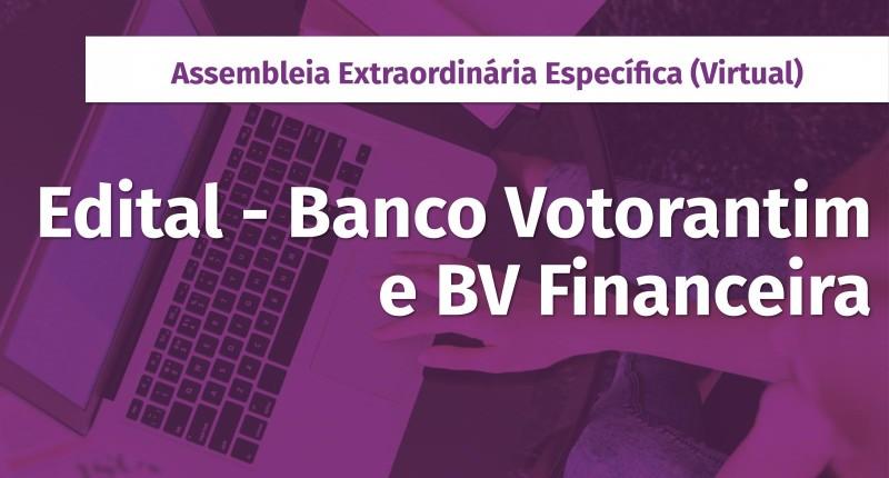 Nesta sexta, 12, tem assembleia do Banco Votorantim e BV Financeira