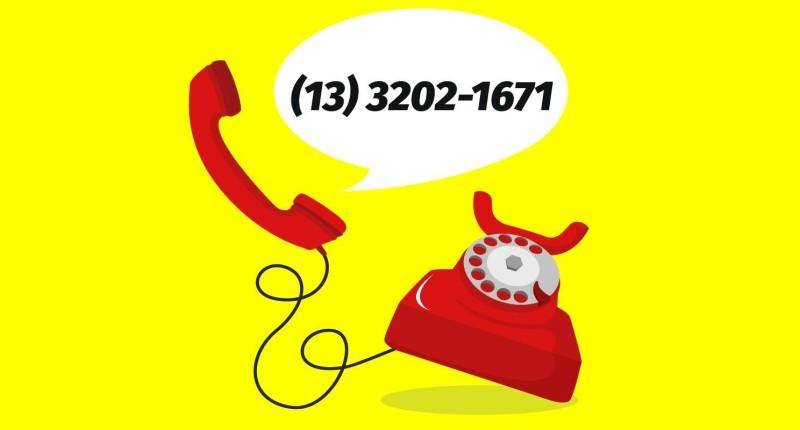 Sindicato está com número de telefone temporário para atendimento