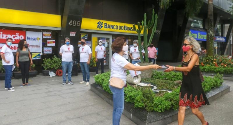 Trabalhadores lançam campanha contra desmonte do BB