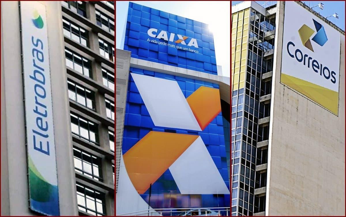 Na mira da privatização, Eletrobras, Correios e Caixa lucram de R$ 21 bi