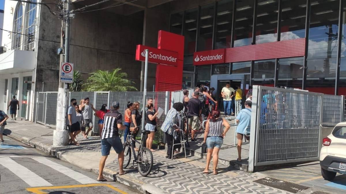 Santander tem novo protocolo de prevenção à Covid