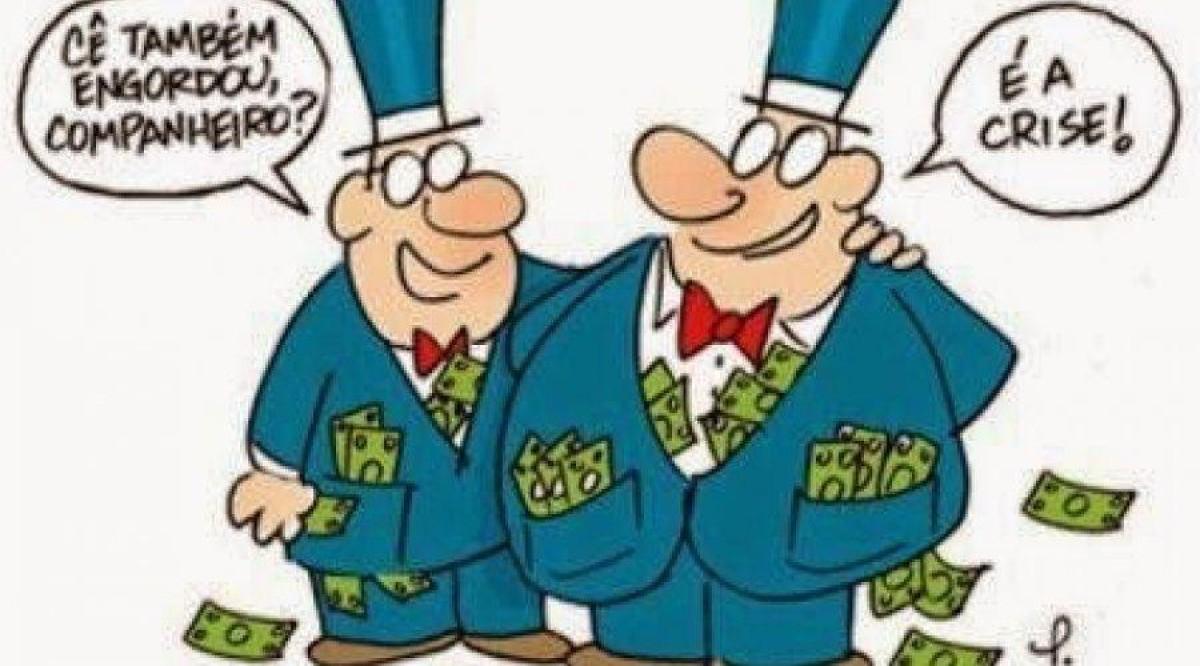 Tributar super-ricos contra desigualdade. Banco pode pagar mais!