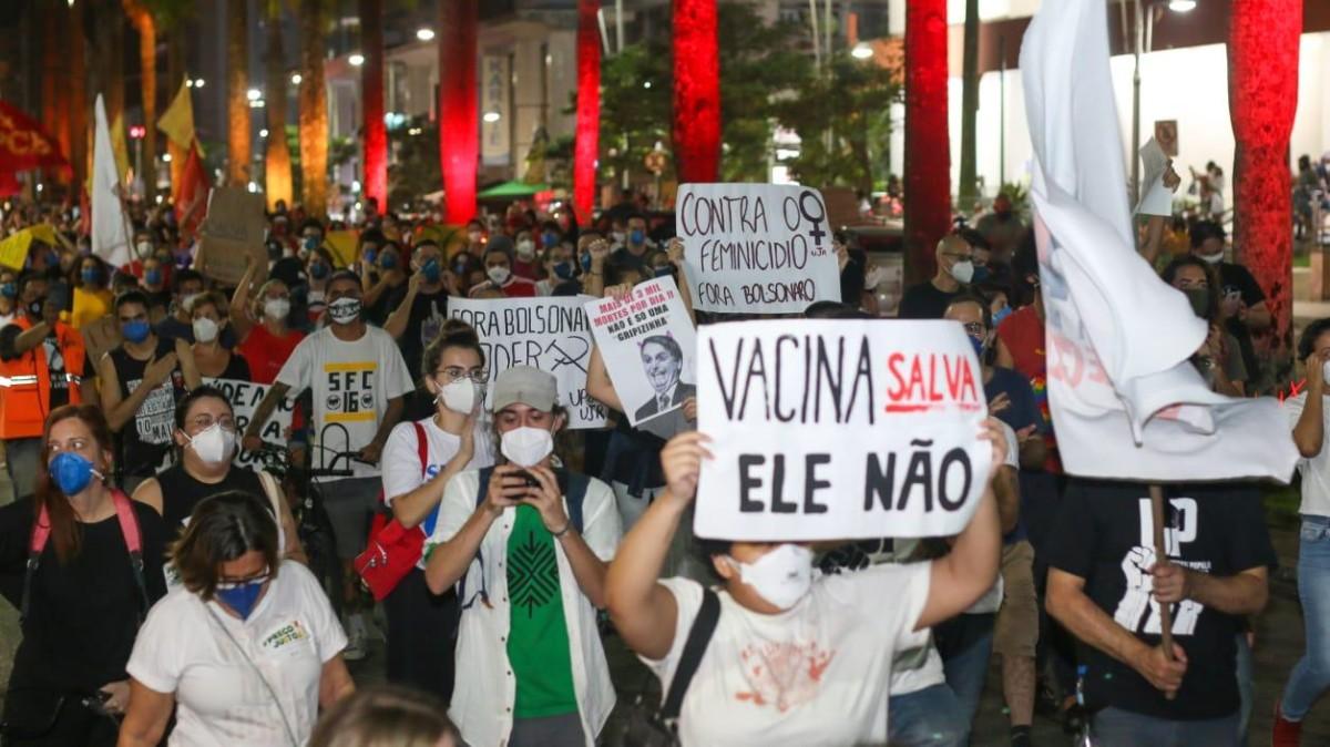 Atos pelo 'Fora Bolsonaro' acontecem neste sábado, 3/7, em todo o Brasil