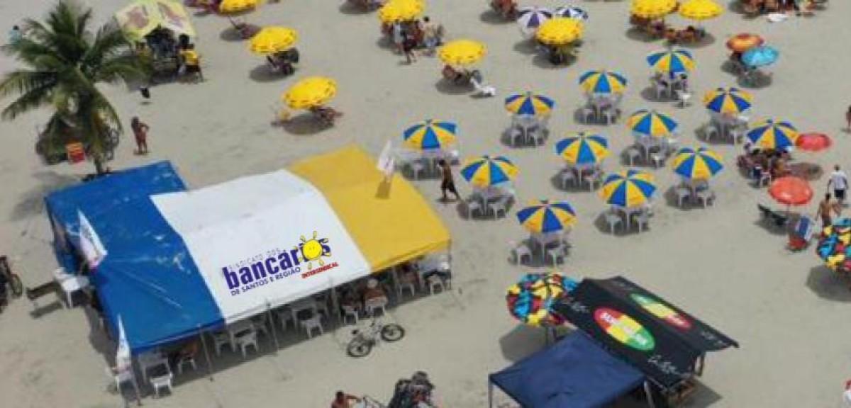 Barraca de praia neste 9 de julho + sábado e domingo