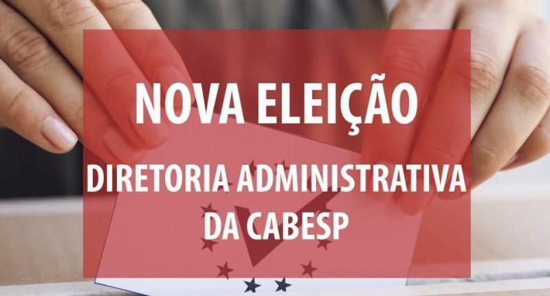 Cabesp é obrigada a convocar nova eleição para diretor administrativo